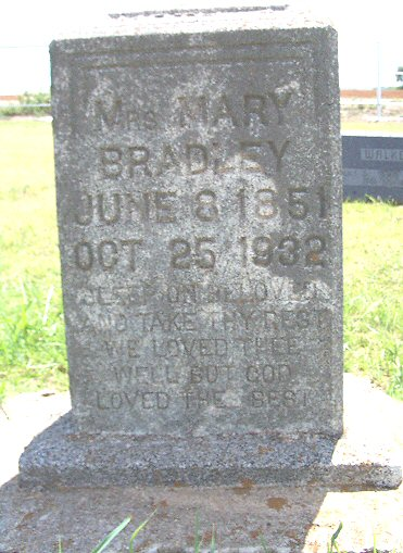 Mrs. Mary Bradley