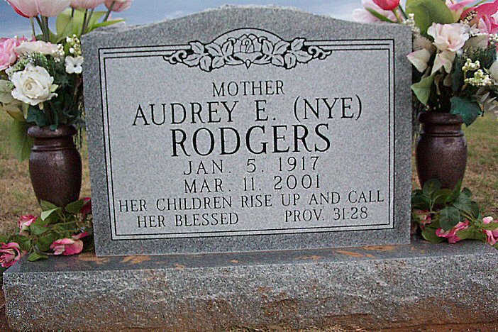 Audrey Nye Rodgers