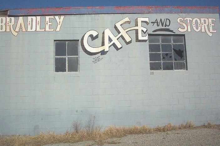 Bradley Cafe side view closeup