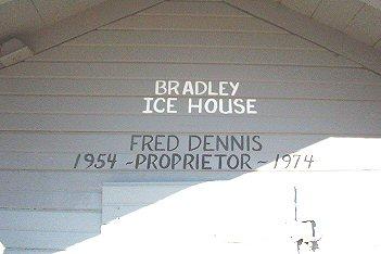 Bradley Icehouse closeup